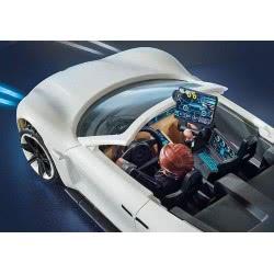 Playmobil The Movie Rex Dashers Porsche Mission E 70078 4008789700780