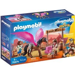 Playmobil The Movie Marla And Del With Flying Horse 70074 4008789700742