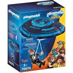 Playmobil The Movie Ο Μυστικός Πράκτορας Ρεξ Ντάσερ Με Το Αλεξίπτωτό Του 70070 4008789700704