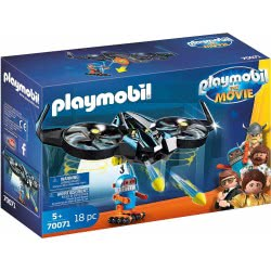 Playmobil The Movie Ο Ρομπότιτρον Με Το Drone Του 70071 4008789700711