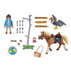 Playmobil The Movie Marla With Horse 70072 4008789700728