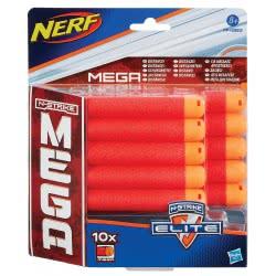 Hasbro NERF N-STRIKE ELITE MEGA 10PACK REFILL ΑΝΤΑΛΛΑΚΤΙΚΑ ΒΕΛΑΚΙΑ A4368 5010994727505