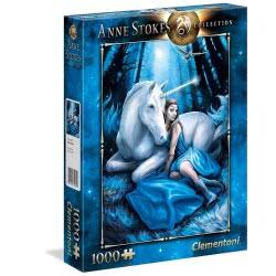 Clementoni Anne Stokes Collection Blue Moon Puzzle 1000 Pieces 1260-39462 8005125394623