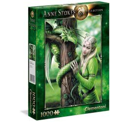 Clementoni Anne Stokes Collection Kindred Spirits Puzzle 1000 Pieces 1260-39463 8005125394630