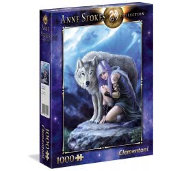 Clementoni Anne Stokes Collection Protector Puzzle 1000 Pieces 1260-39465 8005125394654