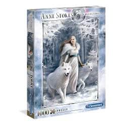Clementoni Anne Stokes Collection Winter Guardians Puzzle 1000 Pieces 1260-39477 8005125394777