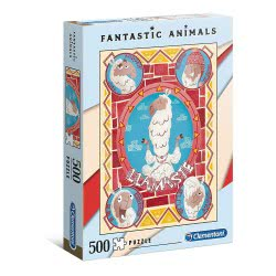 Clementoni Fantastic Animals Lama Puzzle 500 Pieces 1260-35069 8005125350698