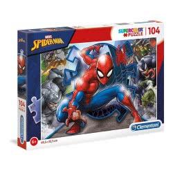Clementoni Supercolor Spider-Man Puzzle 104 Pieces 1210-27116 8005125271160