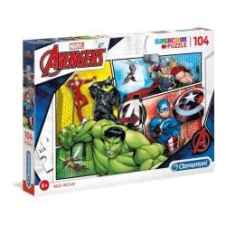Clementoni Supercolor Marvel Avengers Παζλ 104 Τεμαχίων 1210-27284 8005125272846