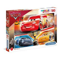 Clementoni Supercolor Cars 3 Puzzle 180 Pieces 1210-29291 8005125292912