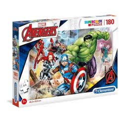 Clementoni Supercolor Marvel Avengers Puzzle 180 Pieces 1210-29295 8005125292950