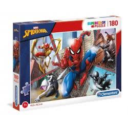 Clementoni Supercolor Marvel Spiderman Puzzle 180 Pieces 1210-29302 8005125293025