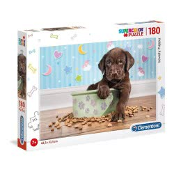 Clementoni Supercolor Lovely Puppy Puzzle 180 Pieces 1210-29754 8005125297542