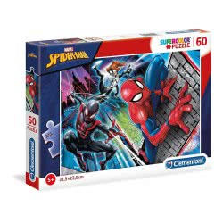 Clementoni Supercolor Marvel Spiderman Παζλ 60 Τεμαχίων 1200-26048 8005125260485
