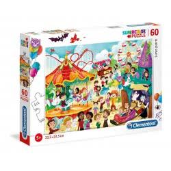 Clementoni Supercolor Luna Park Puzzle 60 Pieces 1200-26991 8005125269914