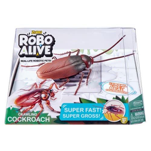 ZURU Robo Alive Crawling Cockroach Ηλεκτρονική Κατσαρίδα 1863-27112 4894680001060