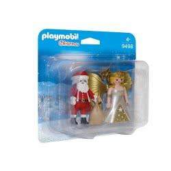 Playmobil Christmas Άη Βασίλης Με Άγγελο Χριστουγέννων 9498 4008789094988