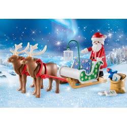 Playmobil Christmas Santas Sleigh With Reindeer 9496 4008789094964