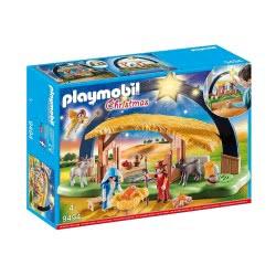Playmobil Christmas Φάτνη Με Φωτεινό Αστέρι 9494 4008789094940