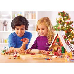 Playmobil Christmas Bakery With Cookie Cutters 9493 4008789094933