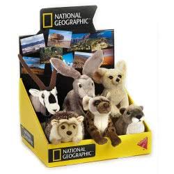 LELLY National Geographic Baby Λούτρινο Ζωάκι Ερήμου - 6 Σχέδια 770809 8004332708094