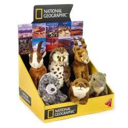 LELLY National Geographic Baby Λούτρινα Zωάκια Ευρώπης - 6 Σχέδια 770865 8004332708650