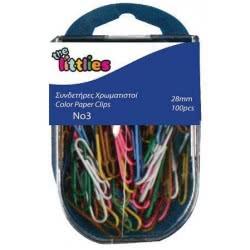 Diakakis imports The Littlies Color Paper Clips 100 Pieces 000646652 5205698443640