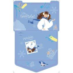 A&G PAPER Life Like A Fairytale Φάκελος Πολυπροπυλενίου A4 Ice Skating - Πατινάζ 032022 5205616320220