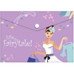 A&G PAPER Life Like A Fairytale Φάκελος Πολυπροπυλενίου A4 Shopping - Ψώνια 32023 5205616320237