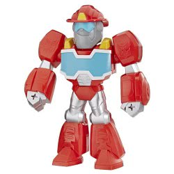 PLAYSKOOL Transformers Rescue Bots Academy Mega Mighties Heatwave The Fire Bot E4131 / E4930 5010993612963