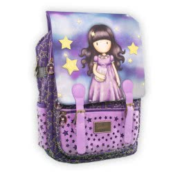 Santoro London Gorjuss Catch A Falling Star Backpack Square With Cap 197302 5202860973028