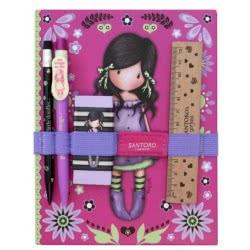 Santoro London Gorjuss Fiesta Notebook Σχολικό Σετ Με Σημειωματάριο - You Brought Me Love 602GJ08 5018997626795