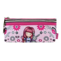 Santoro London Gorjuss Fiesta Zipped Pocket Κασετίνα Με Δυο Φερμουάρ - My Gift To You 776GJ04 5018997626405