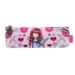 Santoro London Gorjuss Fiesta Pencil Case Κασετίνα Υφασμάτινη Με Φερμουάρ - My Gift To You 775GJ06 5018997626368