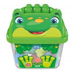 MEGA BLOKS Friendly Frog 25 Building Blocks GCT46 / GCT49 887961734294