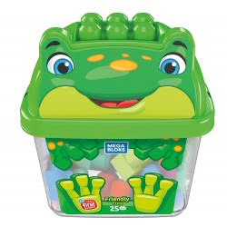 MEGA BLOKS Friendly Frog Τουβλάκια Σε Κουτί 25 Τμχ - Φιλικό Βατραχάκι GCT46 / GCT49 887961734294
