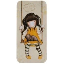 Santoro London Gorjuss Vacation Pencil Tin Μεταλλική Κασετίνα - Ruby ( Κίτρινη ) 288GJ12 5018997616956