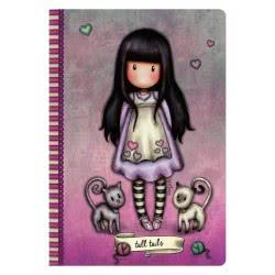 Santoro London Gorjuss Stitched Notebook Σημειωματάριο A5 - Tall Tails 314GJ34 5018997623930