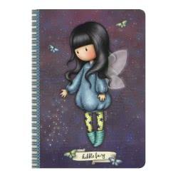 Santoro London Gorjuss A5 Stitched Notebook Σημειωματάριο A5 - Bubble Fairy 314GJ35 5018997623947