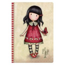 Santoro London Gorjuss A5 Stitched Notebook A5 - Time To Fly 314GJ25 5018997617045