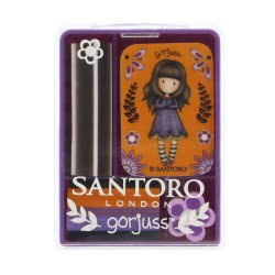 Santoro London Gorjuss Fiesta Mini Eraser Σετ 4 Σβήστρες - Cobwebs 920GJ01 5018997625439
