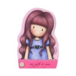 Santoro London Gorjuss Fiesta Character Notebook Σημειωματάριο - My Gift To You 941GJD01 / 941GJ03 5018997625804