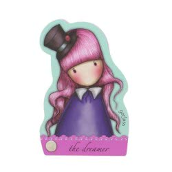 Santoro London Gorjuss Fiesta Character Notebook - The Dreamer 941GJD01 / 941GJ02 5018997625798
