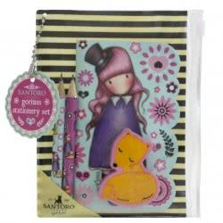 Santoro London Gorjuss Fiesta Mini Stationery Set - The Dreamer 921GJD01 / 921GJ01 5018997625460