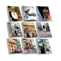 SKAG Street Icons Notebook Spiral 3 Subjects 90 Sheets 17X25 257183 5201303257183