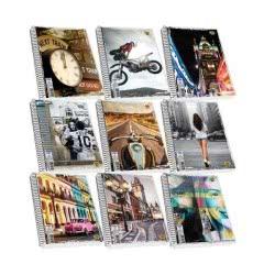 SKAG Street Icons Τετράδιο Σπιράλ 3 Θεμάτων 90 Φύλλων 17X25 257183 5201303257183