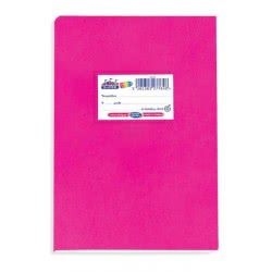 SKAG Super Neon Notebook 50 Sheets 17X25 Cm - Fouchsia 277648 5201303277648