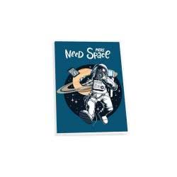 SKAG Neon Kidz Notebook 40 Sheets 17X25 Cm - 8 Designs 250795 5201303250795