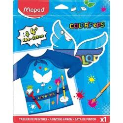 Maped Color Peps Super Heroes Παιδική Ποδιά Ζωγραφικής Υπερήρωες 820410 3154148204107