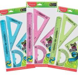 Maped Twist And Flex The Original Geometry Set 20Cm 4 Pieces 897158 3154148971580